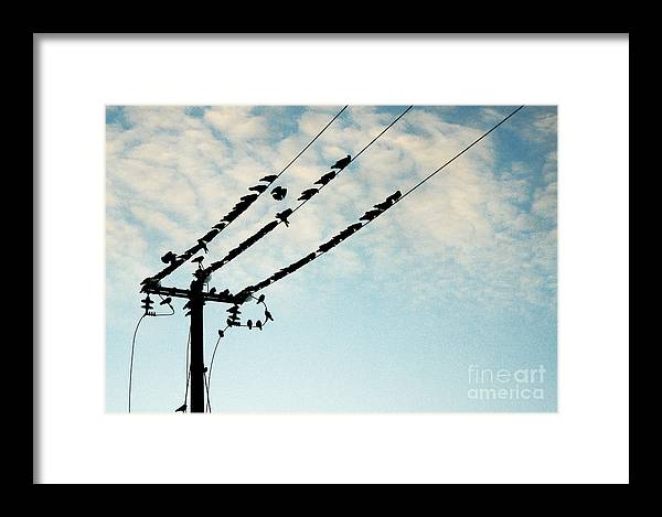 The Sky Framed Print featuring the photograph In The Sky... by Vadim Grabbe