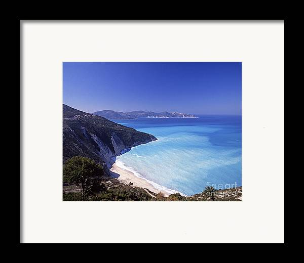 Greece Framed Print featuring the photograph Kefallonia Blues by Steve Outram