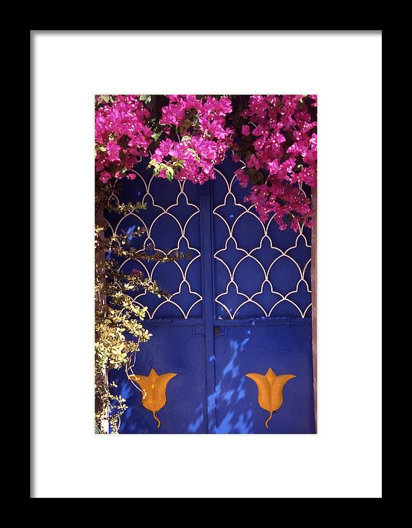 Greece Framed Print featuring the photograph Koskinou Bougainvillea by Steve Outram