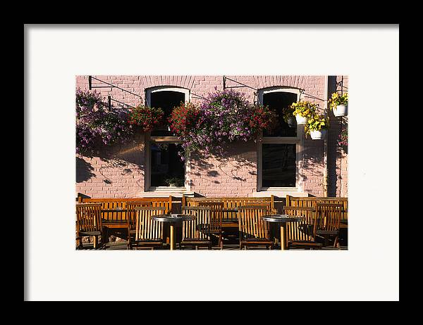 Quebec Framed Print featuring the photograph Pink Hotel Quebec City by Art Ferrier