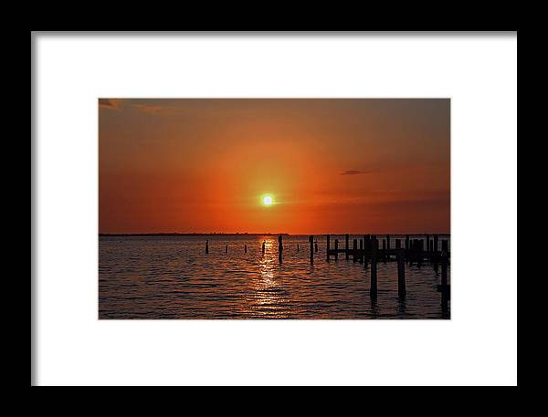 Sunset Framed Print featuring the photograph Running On Borrowed Dreams by Michiale Schneider