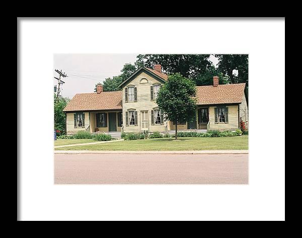 House Framed Print featuring the photograph Samuel R. Kingsley House by Cheryl Martin