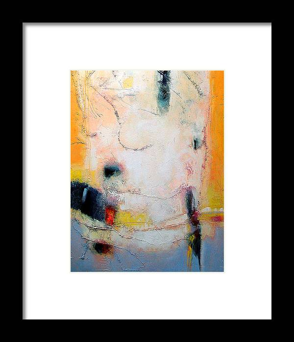 Abstract Framed Print featuring the digital art Strung Out I by Dale Witherow
