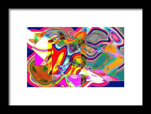 Jgyoungmd Framed Print featuring the digital art 01809 by Jgyoungmd Aka John G Young MD