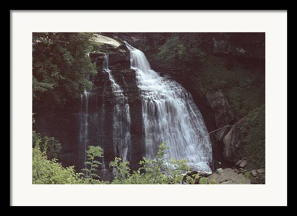 Waterfall Framed Print featuring the photograph 031207-8 by Mike Davis