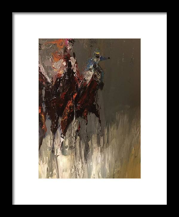 Framed Print featuring the painting 06 by Heather Roddy
