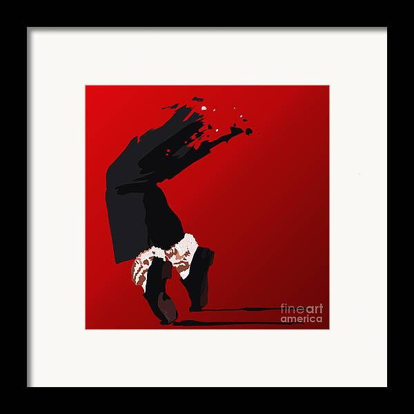 Tamify Framed Print featuring the painting 063. Forever by Tam Hazlewood