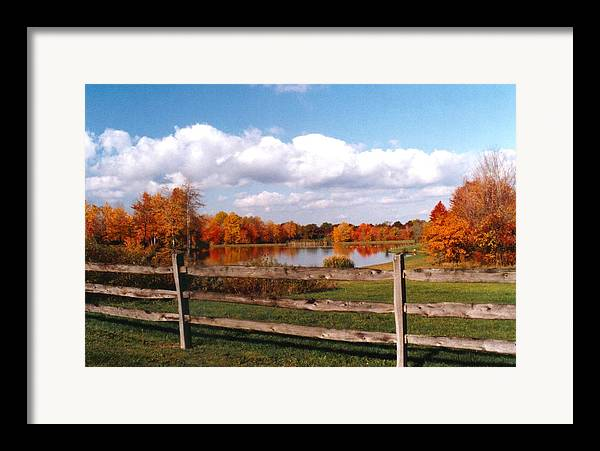 Autumn Colors Framed Print featuring the photograph 070506-44 by Mike Davis