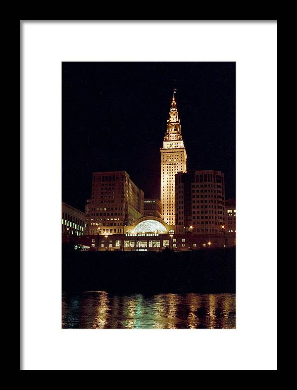 Cleveland Framed Print featuring the photograph 070506-73 by Mike Davis