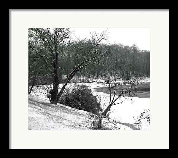Scenic Framed Print featuring the photograph 072606-24a by Mike Davis