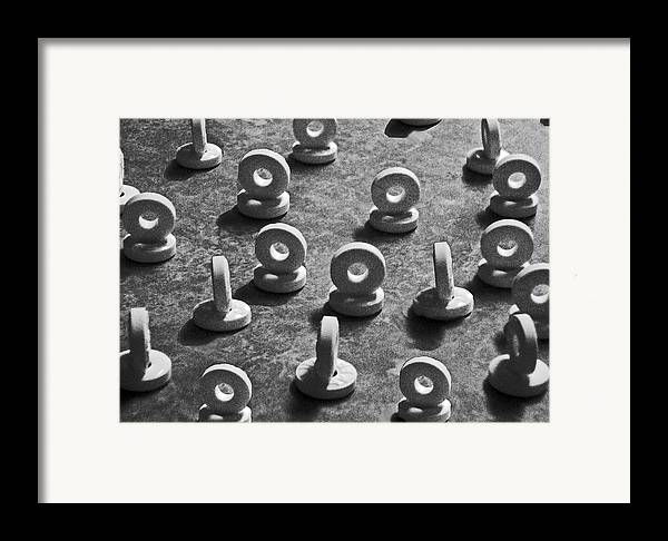 Ansel Adams Framed Print featuring the photograph 08 Lifesavers Rb 1-upped by Curtis J Neeley Jr