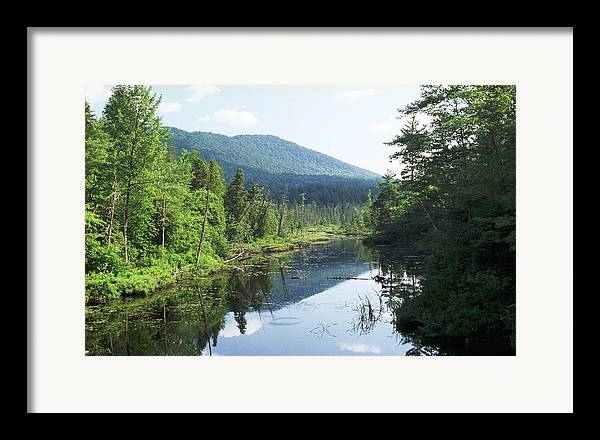 Mountain Framed Print featuring the photograph 070506-84 by Mike Davis