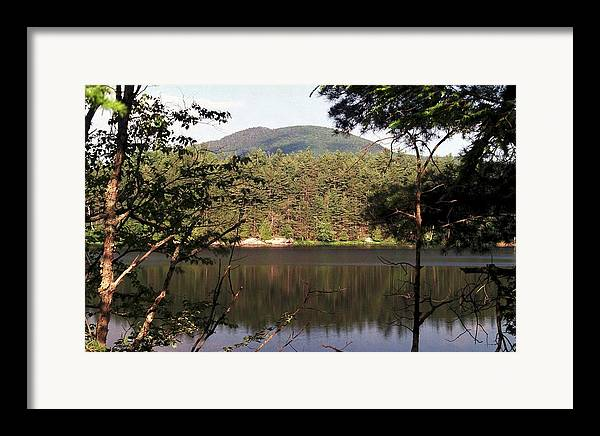 Mountain Framed Print featuring the photograph 080706-84 by Mike Davis