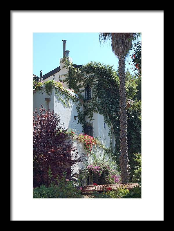 Home Framed Print featuring the photograph A Home In Rehavia 1 by Susan Heller