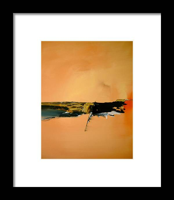 Abstract Framed Print featuring the painting A Manifestation Of Full Splendor by Stefan Fiedorowicz