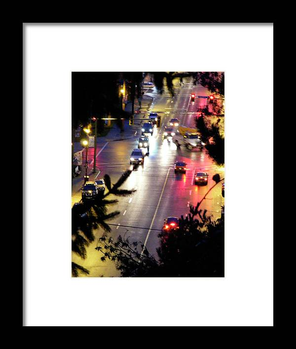 Abbotsford Framed Print featuring the photograph Abbotsford Lights 01 by Attila Jacob Ferenczi