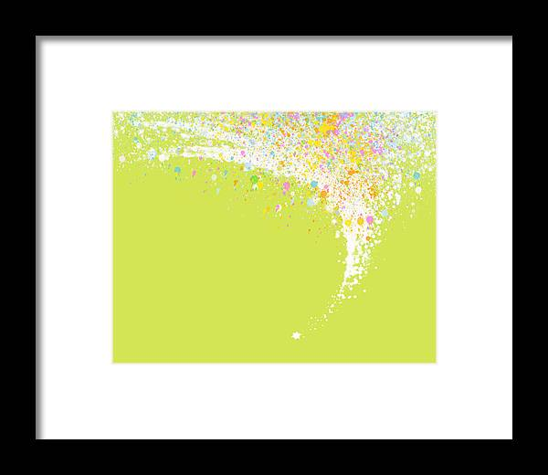 Art Framed Print featuring the painting Abstract Curved by Setsiri Silapasuwanchai