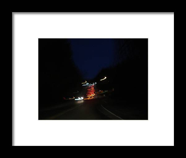 Abstract Framed Print featuring the photograph Abstract by Victoria Wang