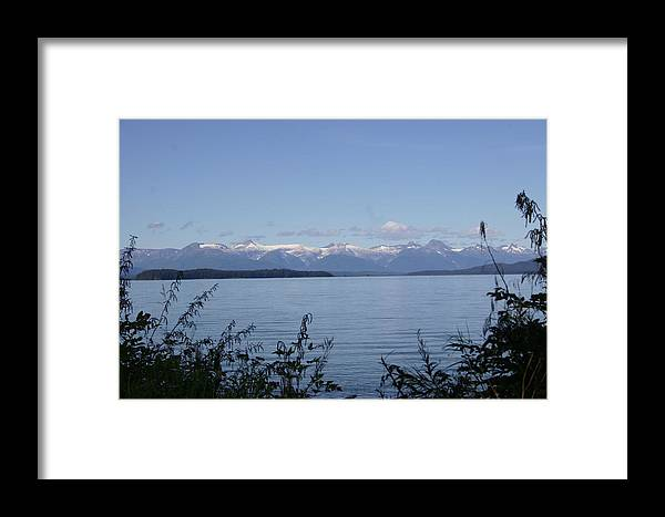 Water Framed Print featuring the photograph Across The Channel by Jeffrey Ober