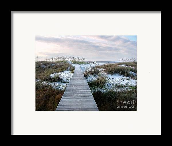 Dunes Framed Print featuring the photograph Across The Dunes by Julie Dant