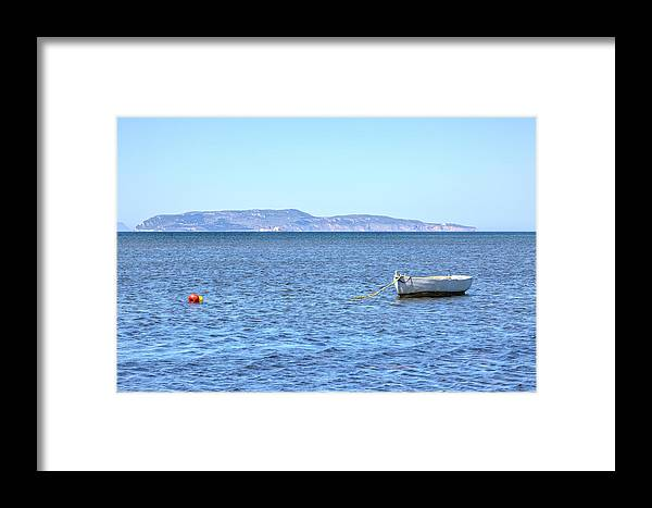 Levanzo Framed Print featuring the photograph Aegadian Islands - Sicily by Joana Kruse