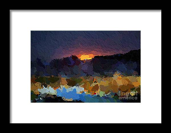 Art Framed Print featuring the photograph African Colours by Morris Keyonzo