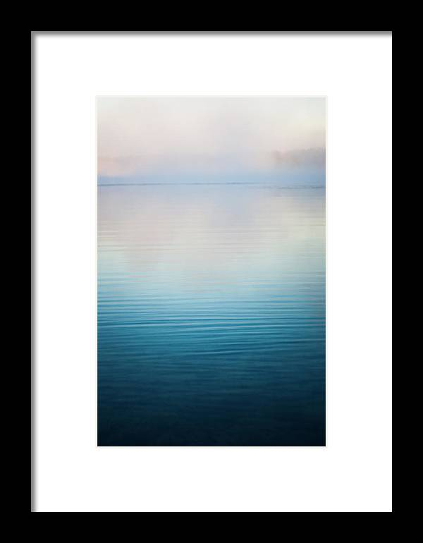 Fog Framed Print featuring the photograph All Is Calm by Parker Cunningham