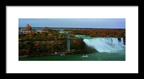 Nature Framed Print featuring the photograph American Falls Niagara by Richard Jenkins