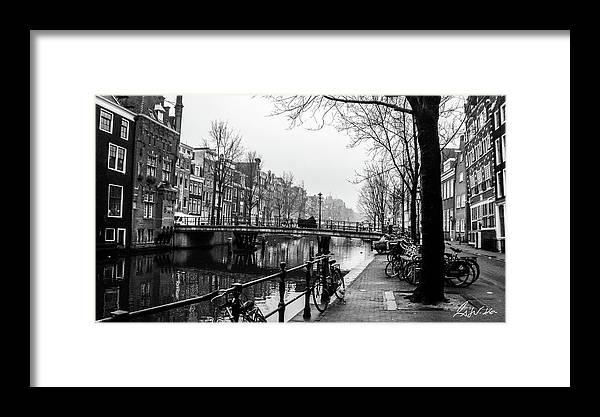 Amsterdam Framed Print featuring the photograph Amsterdam by Fabio Seda