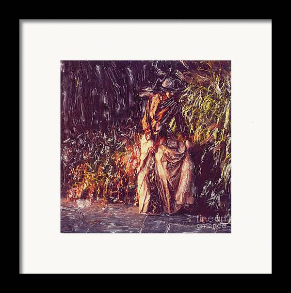 Garden Framed Print featuring the photograph At The River by Steven Godfrey