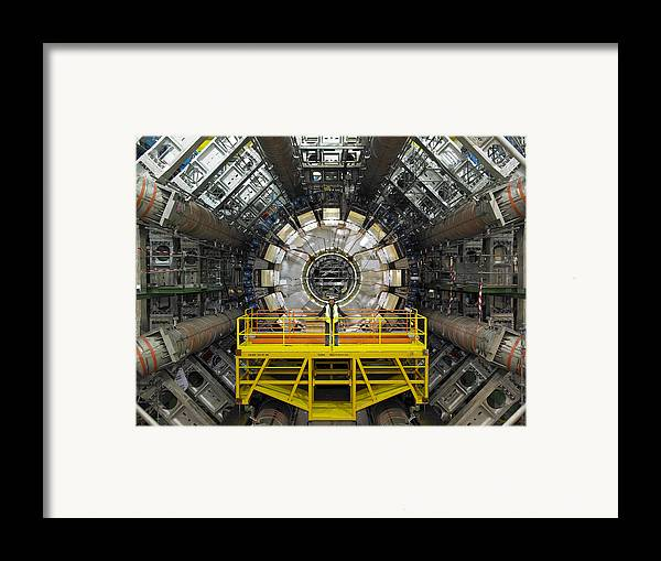 Atlas Framed Print featuring the photograph Atlas Detector, Cern by David Parker