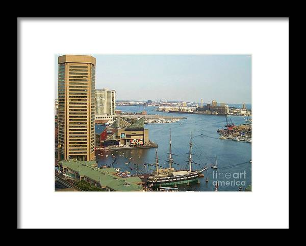 Baltimore Framed Print featuring the photograph Baltimore by Debbi Granruth