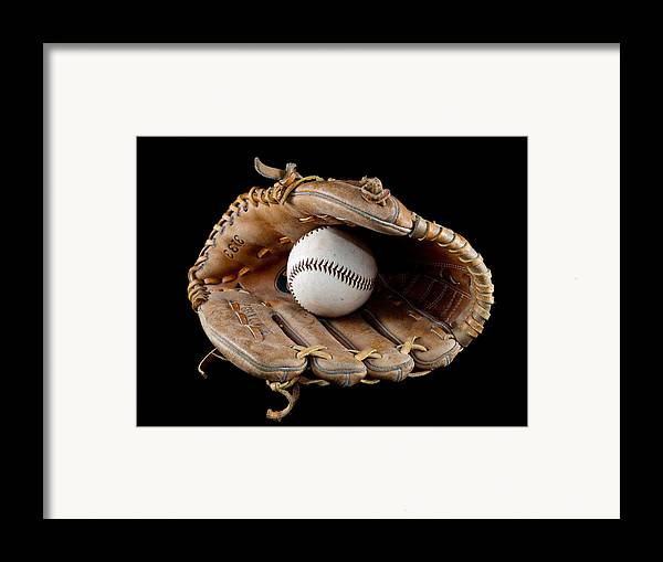 Sport Framed Print featuring the photograph Baseball by Felix M Cobos