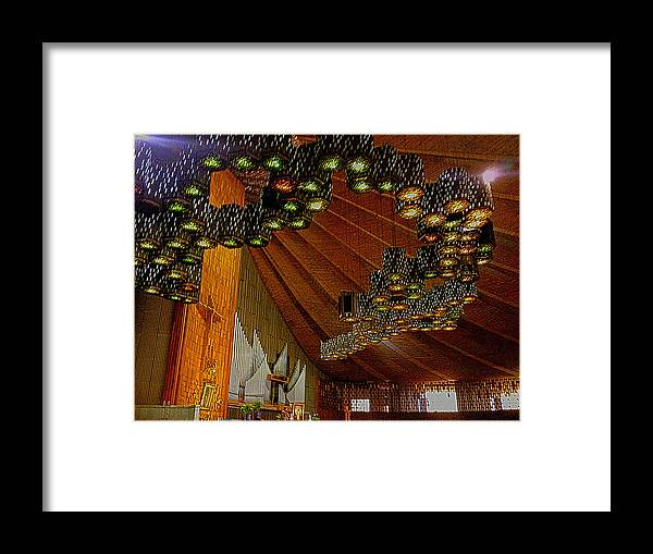 Basilica De Guadalupe Framed Print featuring the photograph Basilica De Guadalupe 4 by Totto Ponce