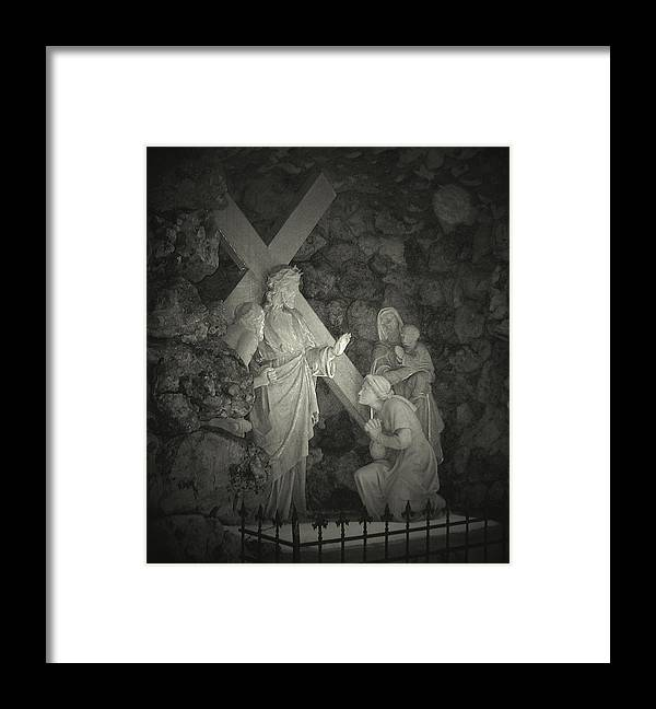 God Framed Print featuring the photograph Be Still And Know by Terence McSorley