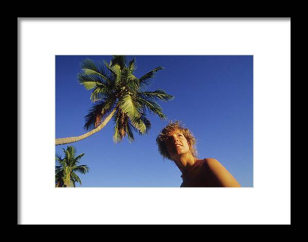 Beautiful Framed Print featuring the photograph Beauty On Little Palm Island by Carl Purcell