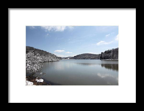 Big Ditch Lake Framed Print featuring the photograph Big Ditch Lake by Carolyn Postelwait