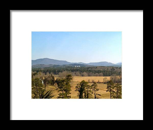 Asheville Framed Print featuring the photograph Biltmore by Aline Kala