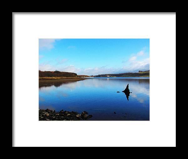 Blessington Lakes Framed Print featuring the photograph Blessington Lakes by Paula O'Sullivan