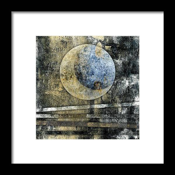 Blue Framed Print featuring the photograph Blue Moon by Carol Leigh