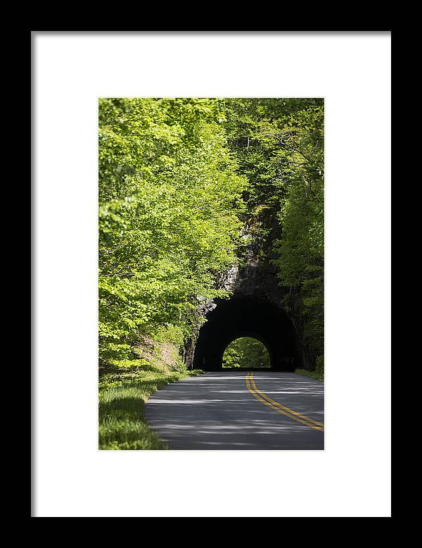 Highway Framed Print featuring the photograph Blue Ridge Parkway by Keith May