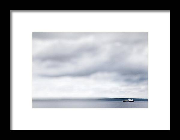 Art Framed Print featuring the photograph Boat #9224 by Andrey Godyaykin