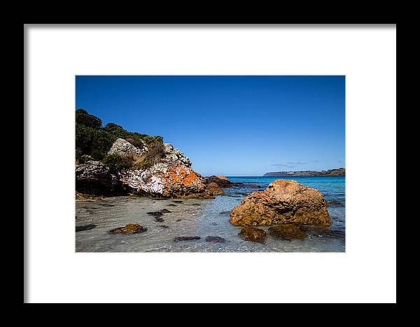 Boat Framed Print featuring the photograph Boat Harbour Beach by Sean Foreman