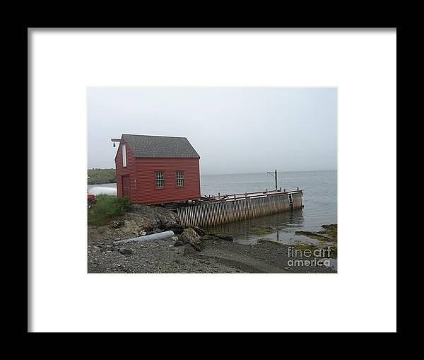 Photograph Bonavista Island Atlantic Ocean Newfoundland Framed Print featuring the photograph Bonavista by Seon-Jeong Kim
