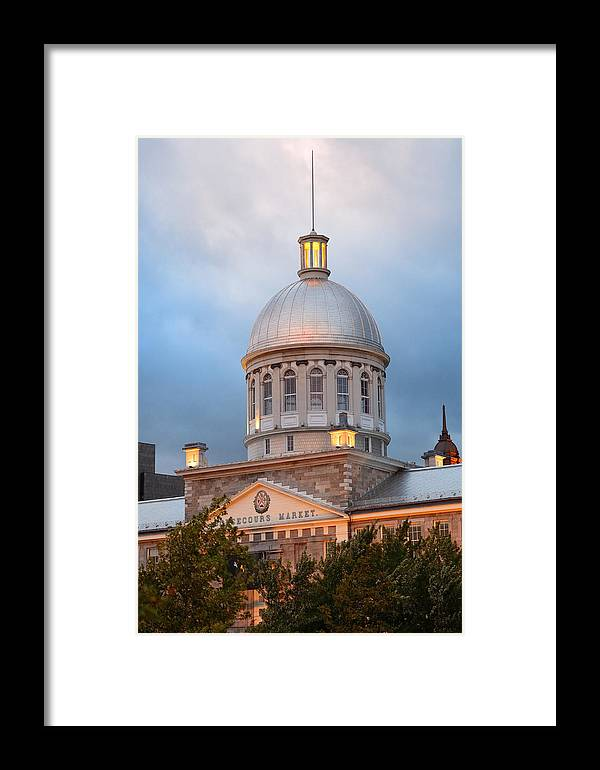 Montreal Framed Print featuring the photograph Bonsecours Market by Songquan Deng