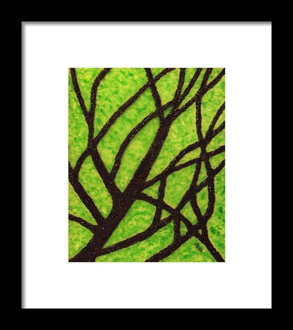 Corporate Art Framed Print featuring the painting Branching Out by Anneliese Fritts