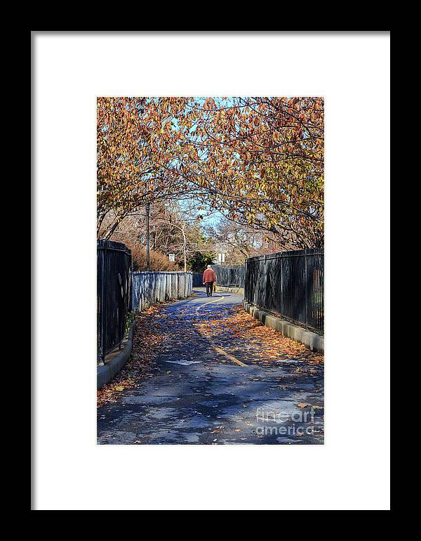 America Framed Print featuring the photograph Brooklyn Park In Fall by Jannis Werner