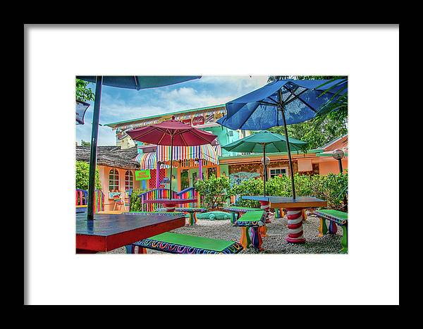 Bubble Framed Print featuring the photograph Bubble Room Restaurant - Captiva Island, Florida by Timothy Wildey