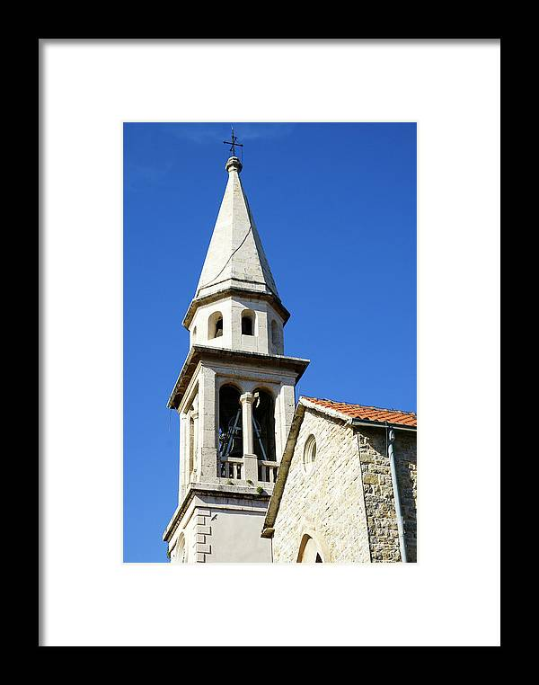 Travel Framed Print featuring the photograph Budva, Montenegro by Ruth Hofshi