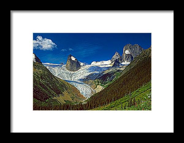 Mountains Framed Print featuring the photograph Bugaboo Spires by Steve Harrington